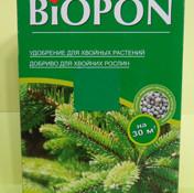 Biopon для хвойних рослин 1кг