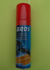 Bros аерозоль від мурах